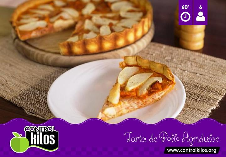 Receta-Tarta-Pollo-Agridulce